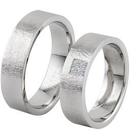 Обручальные кольца с бриллиантами из золота, артикул R-ТС 3203