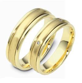 Обручальные кольца с вращающейся серединой, артикул R-ТС 1256