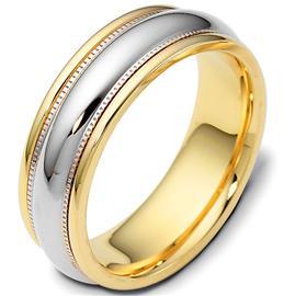 Эксклюзивное обручальное кольцо из золота 585 пробы, артикул R-E1540