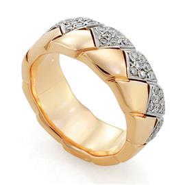 Обручальное кольцо с бриллиантами, артикул R-2258-3