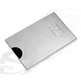 Футляр для кредитных карт Полоски серебро, артикул R-275