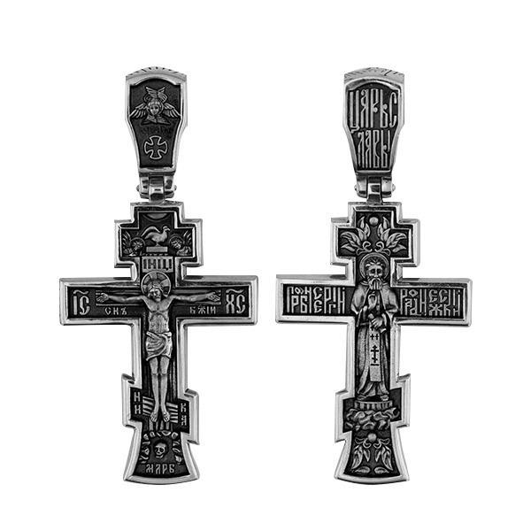 Распятие Христово. Преподобный Сергий Радонежский, артикул R-КС3076-0-3