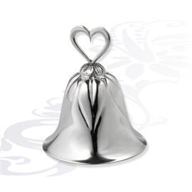 Серебряный колокольчик сердце, артикул R-0140468A
