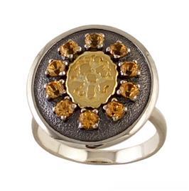 Кольцо Мерцание серебро, артикул R-135112
