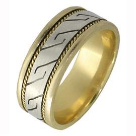 Эксклюзивное обручальное кольцо из золота 585 пробы, артикул R-2315/001