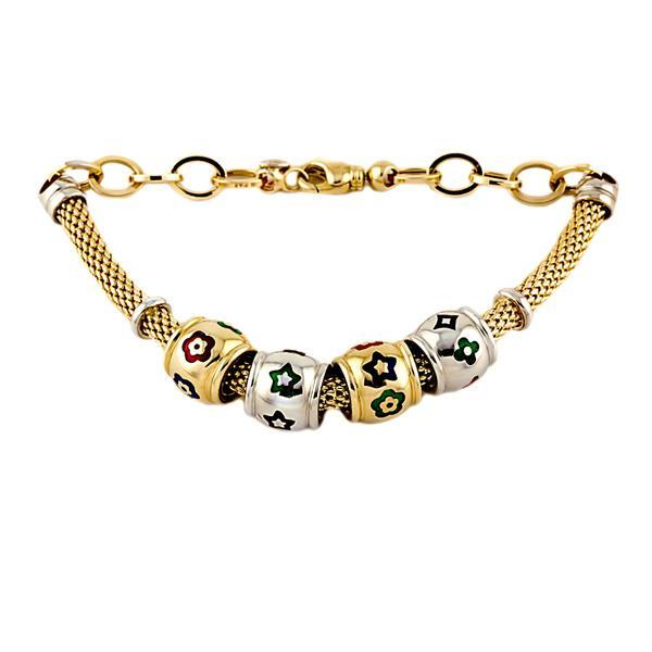 Купит в интернет магазине браслеты жёлтые