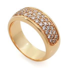 Обручальное кольцо с бриллиантами, артикул R-3298-3
