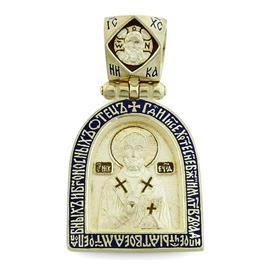 Икона Святого Николая Мирликийского Чудотворца, артикул R-РКс1607-1