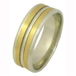 Кольцо обручальное из золота 585 пробы, артикул R-1975