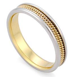 Кольцо обручальное  из золота 585 пробы, артикул R-V1029