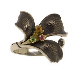 Кольцо Аленький цветочек серебро 925, артикул R-139499
