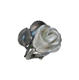 Кольцо Роза серебро 925, артикул R-141406