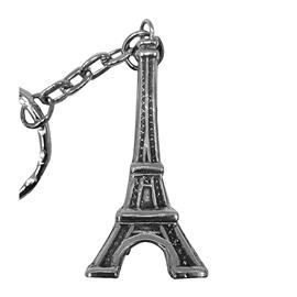 Брелок Эйфелевая башня из серебра 925°, артикул R-110283