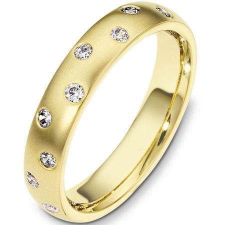 8e64b709d896 Купить Обручальные кольца из желтого золота 750 пробы    Ювелирный ...