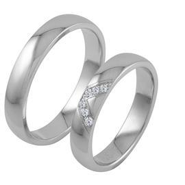 Обручальные кольца классические, артикул R-ТС 3325