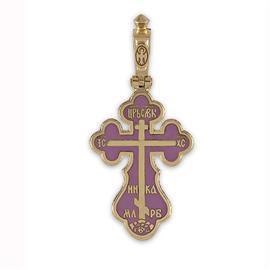 Крестик с надписями  Иисус Христос, Царь Славы, Спаси и сохрани, артикул R-РКр1602-1