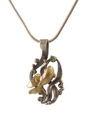 Подвеска Золотая Рыбка серебро, артикул R-307406