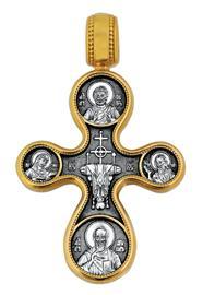 Крест нательный православный Этимасия, Восемь святых, артикул R-101.059