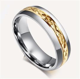 Обручальное кольцо из золота 585 пробы, артикул R-AL2314-12