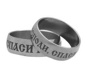 Обручальное кольцо из титана, артикул R-Т1112