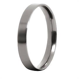 Обручальное кольцо из титана, артикул R-Т1012