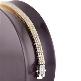 Браслет с бриллиантами 4,35 карат, артикул R-ИМ 014
