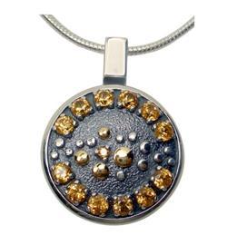 Кулон Созерцание серебро, артикул R-305512