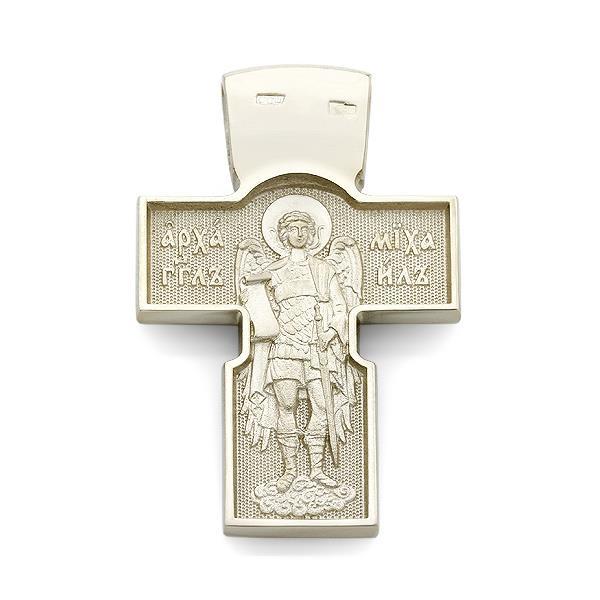 Крестик православный нательный образ Иисуса Христа, Пресвятая Богородица, Иоанн Богослов, святой Николай Чудотворец, архангел Михаил
