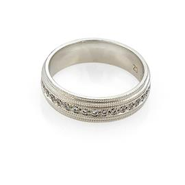 Эксклюзивное обручальное кольцо с бриллиантами из золота 585 пробы, артикул R-С3868
