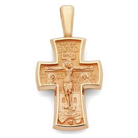 Крест православный Распятие Иисуса Христа, Архангел Михаил, артикул R-KRZ0101-3