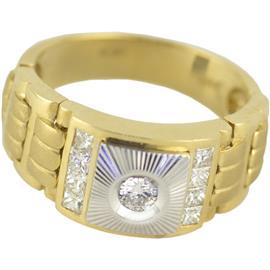 Кольцо с бриллиантами 0,61 карат, артикул R-ИМ 101