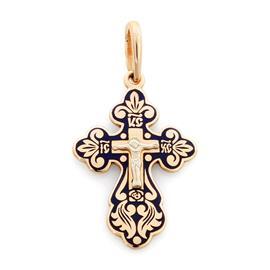Крест нательный православный Распятие Христово, артикул R-Э20118